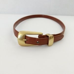Vintage Coach Leather Belt British Tan Size M